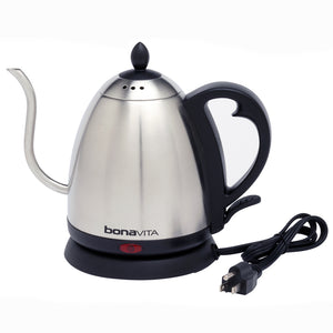 Bonavita 1.0 Liter Electric Gooseneck Stainless Kettle