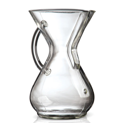Chemex 6 Cup Glass Handle Series Coffeemaker
