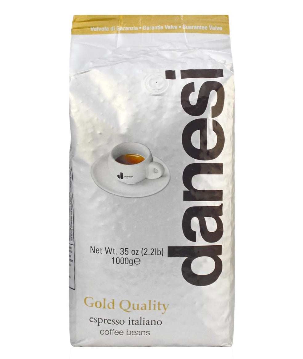 Danesi Caffè Gold Whole Bean Espresso - 2.2 lb bag