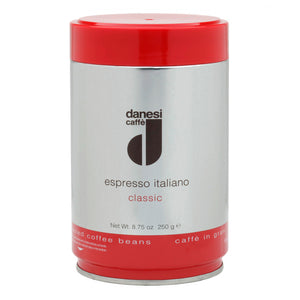 Danesi Caffe Classic Whole Bean Espresso - 8.75 oz Tin