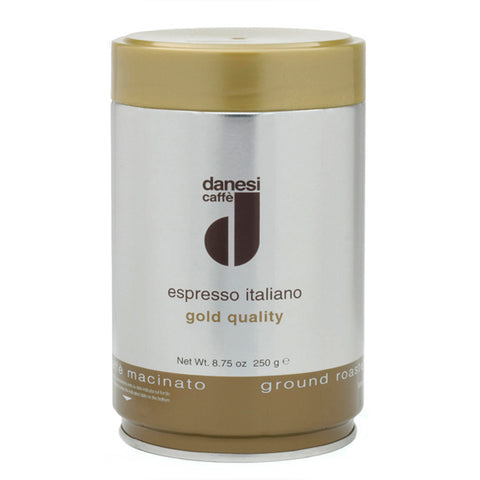 Danesi Gold Espresso Ground Coffee - 8.75 oz tin
