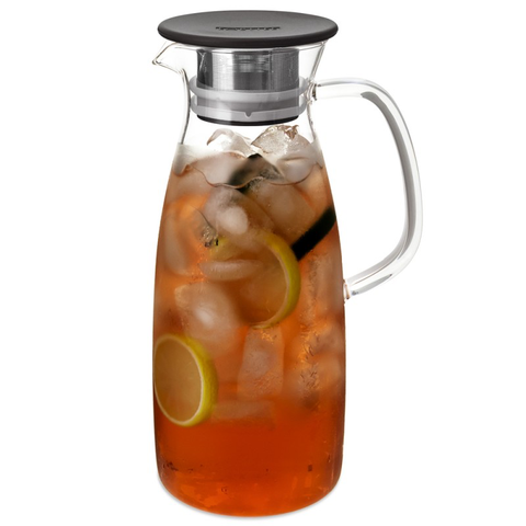 ForLife Mist Glass 50 oz. Iced Tea Jug