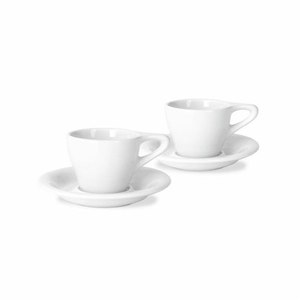 notNeutral Lino Cup & Saucer - Set of 2