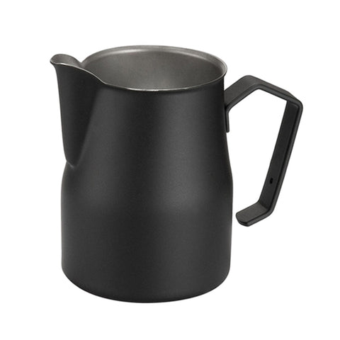 Motta Black Professional Milk Frothing Pitcher