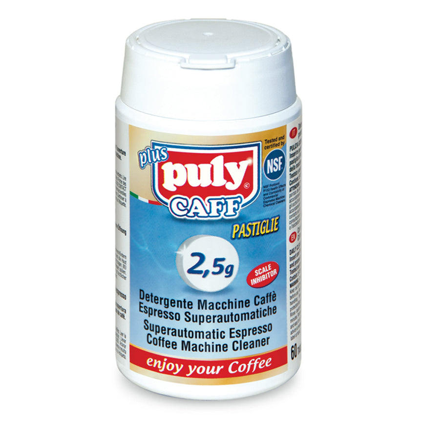 Puly Caff Superautomatic Espresso Machine Cleaner Tablets 2.5 g