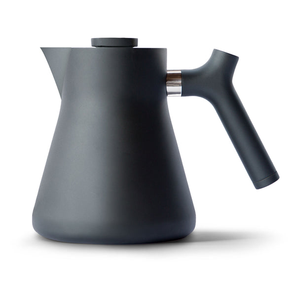 Fellow Raven Stovetop Tea Kettle and Tea Steeper - Matte Black