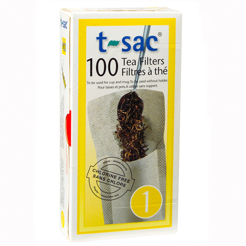 T-Sac Loose Tea Filters - Size 1