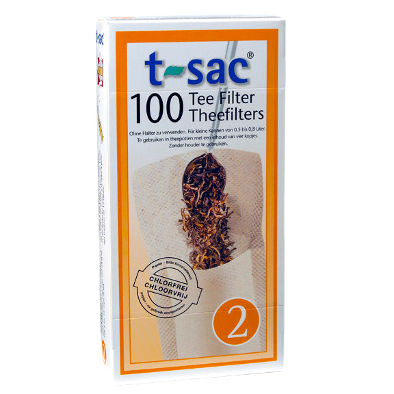 T-Sac Loose Tea Filters - Size 2