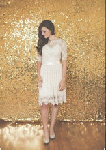 Load image into Gallery viewer, Gold Sequin Backdrop