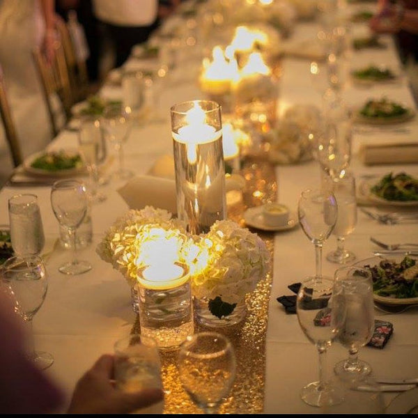 12 Gold Sequin Table Runner