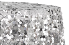 Large Payette Sequin Round Tablecloth