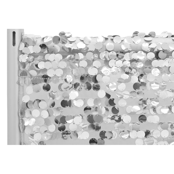 "Payette Sequin  Fabric Backdrop background/10ft H x52""W"