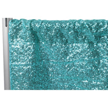 Load image into Gallery viewer, Sequin Fabric Backdrop/Photo booth background 12ft x112""