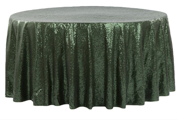 Glitzy Sequin Round Tablecloth
