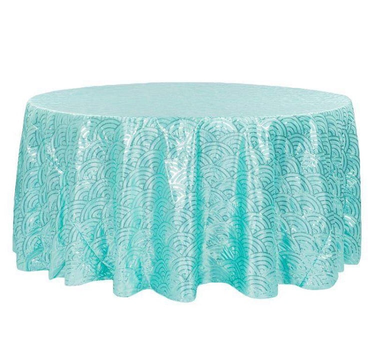 Mermaid scale Tablecloth