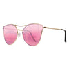 Cat-Eye Color Therapy Lifestyle Sunglasses | Blue-Pink-Purple-Red