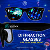 Limited Edition Imagine Music Festival | Diffraction Glasses | Black