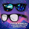 Limited Edition Ever After Music Festival | Diffraction Glasses | Black