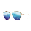 Eye Love Shadez | Retro Collection | Metal Square Sunglasses Light blue