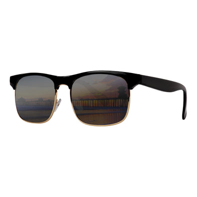 Retro Sunglasses Collection | Clubmaster Black Smoke