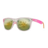 Eye Love Shadez | Wayfarer Sunglasses Collection | Pink Galaxy Angle