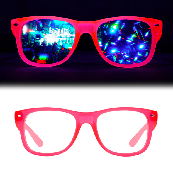 Glow-In-The-Dark-Pink-Diffraction-Rave-Refraction-Glasses
