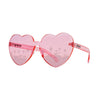 Eye Love Shadez Heartz Color Therapy Sunglasses – Pink