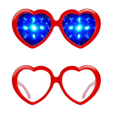 Heart-Diffraction-Rave-Refraction-Glasses