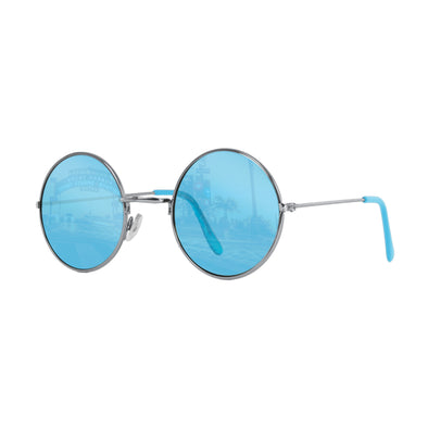 John Lennon Vintage Round Color Therapy Lifestyle Glasses | Green-Blue-Yellow