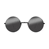 John Lennon | Retro Collection Round Sunglasses | Black Smoke Front