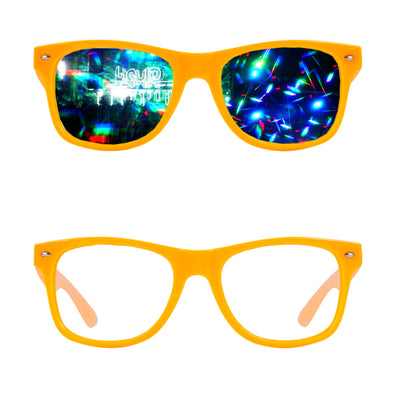 Orange-Diffraction-Rave-Refraction-Glasses-Diffraction effect