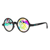 Limited Edition Imagine Music Festival | Round Kaleidoscope Glasses | Black