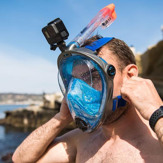 Full-Faced Snorkeling Mask