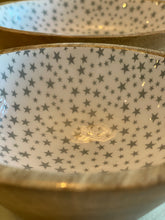 Load image into Gallery viewer, Small Wooden Enamel Star Bowl