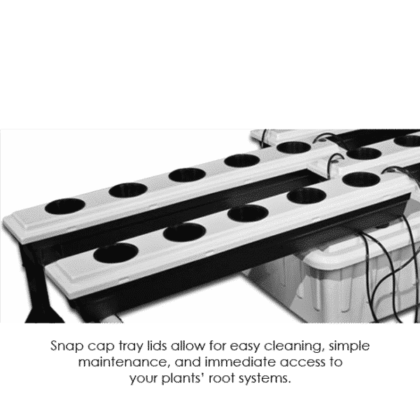 20-Site Super Flow Hydroponic Grow System SuperFlow 20