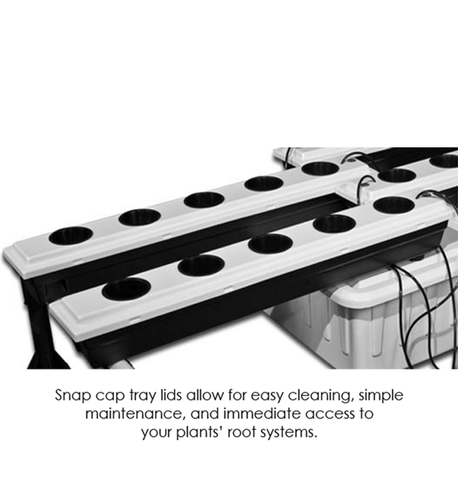 26-Site Super Flow Hydroponic Grow System-SuperFlow 26-westtradinghouse.com