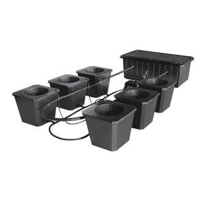 6-Site Bubble Flow Buckets Hydroponic Grow SystemBubbleFlow Bucket 6-westtradinghouse.com