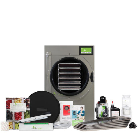 Image of Harvest Right Large Black Home Freeze Dryer w/110v Oil Pump-westtradinghouse.com
