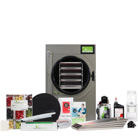 Image of Harvest Right Medium Black Home Freeze Dryer w/110v Oil Pump-westtradinghouse.com