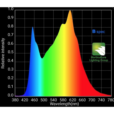 Image of HLG 300L V2 Bspec 270 Watt LED Full Spectrum Grow (Veg) light Horticulture Lighting Group-HLG-300L-BSPEC-westtradinghouse.com
