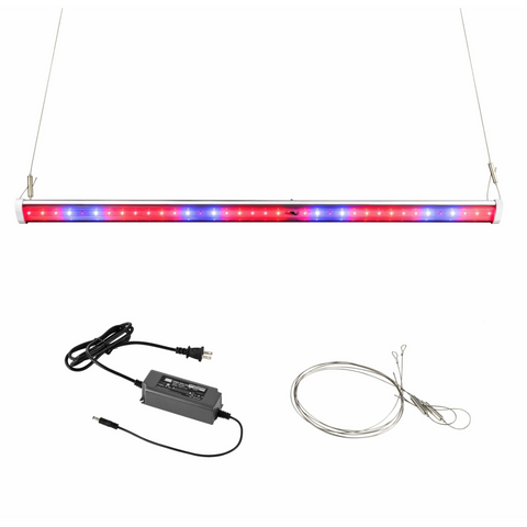 Image of HLG 60W Bar LED Grow Light Horticulture Lighting Group-Horticulture Lighting Group-HLG-60-RED-WITH-DRIVER-westtradinghouse.com