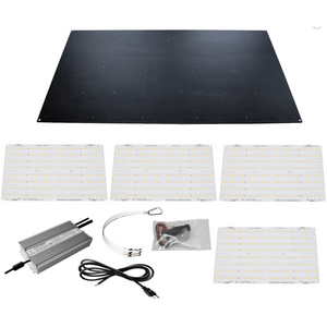 HLG 600 Watt QB288 V2 Rspec LED Grow Light Kit 120, 240 Volt Horticulture Lighting Group-HLG-600wQb288v2rspeckit120-westtradinghouse.com