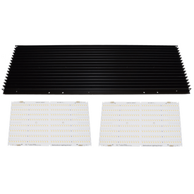 HLG QB288 V2 Rspec & Slate 2 Double Combo LED Grow Light Horticulture Lighting Group-Horticulture Lighting Group-HLG-QB288V2RspecSlate2DblCmbo-westtradinghouse.com