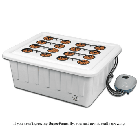 Superponic 16 Automated Feed Hydroponic Grow System