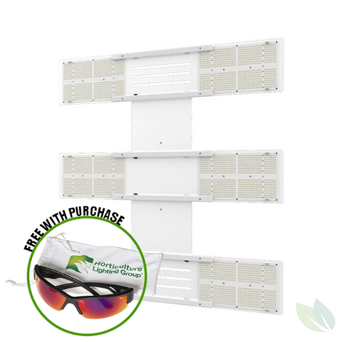 Image of HLG Scorpion Diablo 650 Watt LED Grow Light Horticulture Lighting Group W/ Glasses