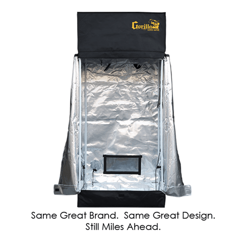 Gorilla Grow Tent 2' x 2.5' Heavy Duty-LTGGT22-westtradinghouse.com
