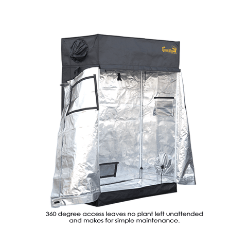 Gorilla Grow Tent 2' x 4' Heavy Duty-LTGGT24-westtradinghouse.com