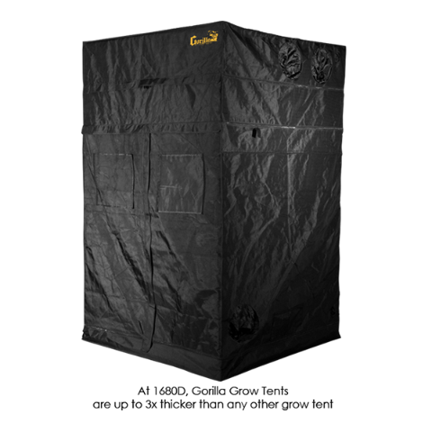 Image of Gorilla Grow Tent 4' x 4' Heavy Duty-westtradinghouse.com