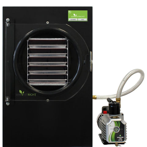 Harvest Right Large Black Home Freeze Dryer w/110v Oil Pump-westtradinghouse.com
