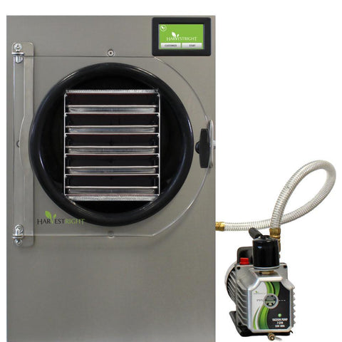 Image of Harvest Right Large Stainless Home Freeze Dryer w/110v Oil Pump-HRFD-LARGEST-westtradinghouse.com
